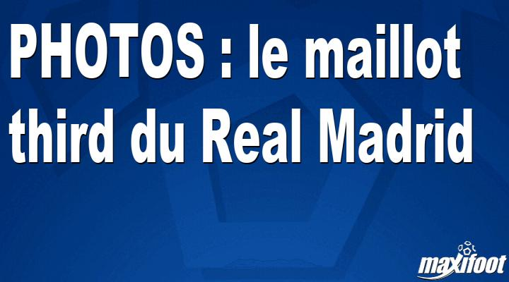 BUZZS : le maillot third du Real Madrid